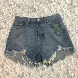 Wild Fable distressed frayed denim shorts